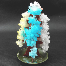 20PCS 2019 10Hx6Dcm Visual Multicolor Magic Growing Paper Tree Mystic Christmas Trees Japan Educative Science Kids Toys Novelty