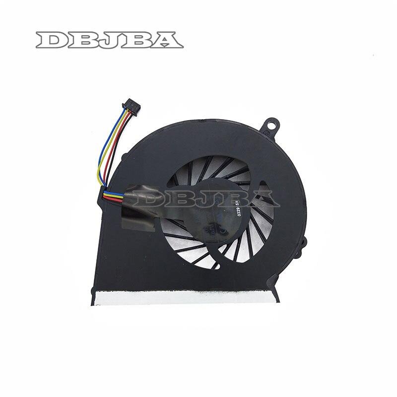 New CPU Laptop Cooling Fan Para HP Compaq 2000 CQ58 655 G58 650 FB7U DFS531205MCOT 686259-001 688306- 001 4 Fã Pin