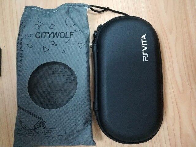 Jogo duro EVA Bolsa travel bag Para PS VITA PSV 1000 PSvita1000 2000 Slim console saco Duro caso protetor shell