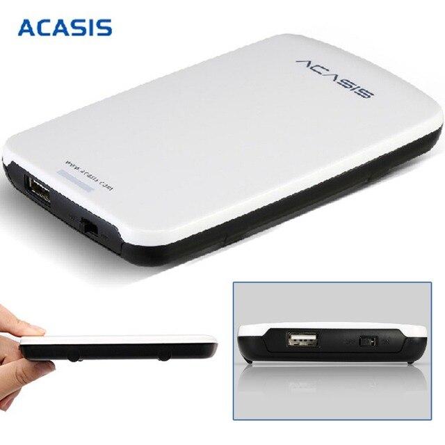 Acasis Fa-05US 9.5 мм USB 3.0 Для SATA 2.5 дюйма HDD Внешний Жесткий Корпус Дело Коробка Для Хранения Для Mac Ос Windows