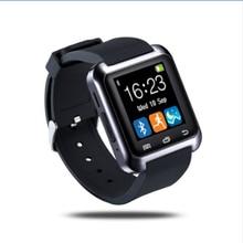 Großhandel Bluetooth Smart Uhr Android Uhr Digitale Sport Handgelenk GEFÜHRTE Uhr Paar Für iOS Android Phone U8 U80 Smartwatch