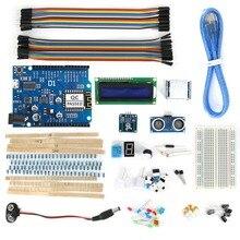 ESP8266 ESP-12E UNO Wi-Fi BreadBoard Kit with Sensors / LCD Display Module Usable for Arduino