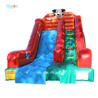 2018 PVC Material Outdoor Water Inflatable Slide Castle Outdoor Game