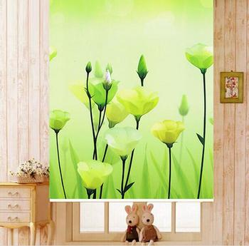 Free Shipping!  THERMAL WINDOW MADE TO MEASURE PATTERNED  ROLLER BLIND SHADE BLOC SUN