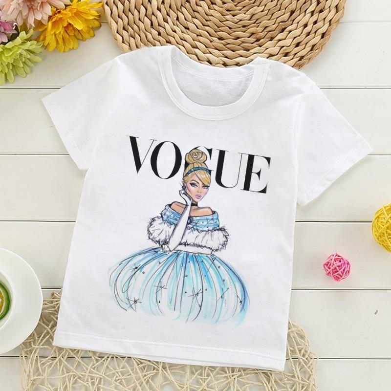 Новые модные детские футболки с принтом в стиле «Холодное сердце», забавные каваи, топы с героями мультфильмов для девочек, белая футболка с о вырезом и короткими рукавами для мальчиков, Харадзюку|Тройники| - AliExpress