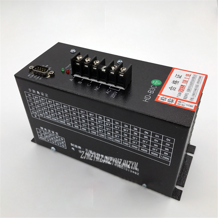 High Quality HD-B3C Stepper Motor Driver AC220V 3-phase Hybrid Stepper Motor Driver Bag Making Machine Stepping Driver Hot Sale
