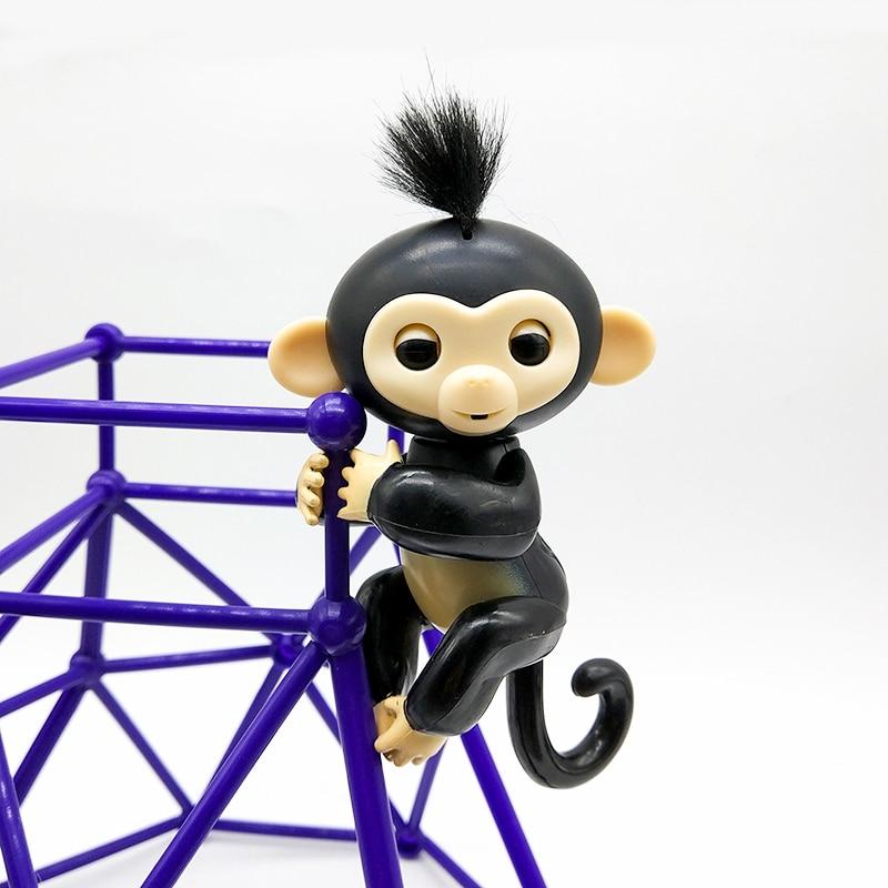 Genuine AuthorizationFingerlings Monkey Finger Baby Monkey  Interactive Baby Pet Intelligent Toy Tip Monkey Finger monkey ZT003