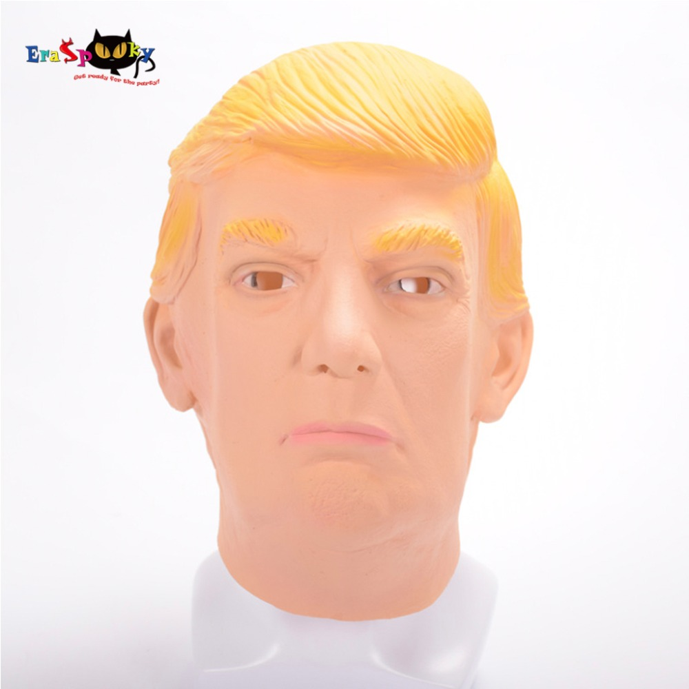 President of the United States Donald Trump Mask High Quality Adult Halloween Mask Costume Accessories Fancy Funny Face Mask