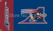 Montreal Alouettes Flag 3×5 FT  Banner 100D Polyester CFL flag 1506, free shipping