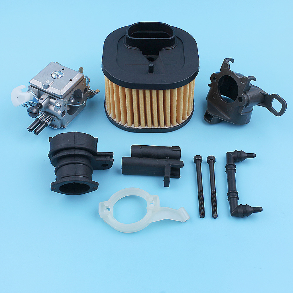 Tools : Carburetor HD Air Filter Intake Adaptor Kit For Husqvarna 365 372 371 362 372XPW Chainsaw Carby Carburettor Carb Spare Part