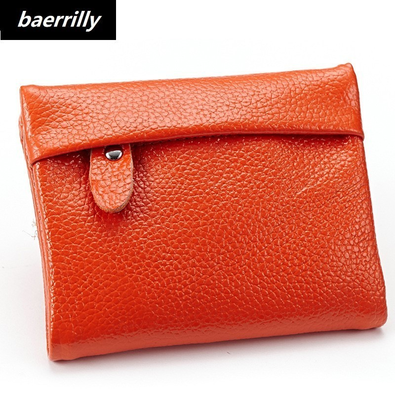 luxury Genuine Leather Women Wallet Purses Coin Purse Female Small Portomonee Bifold Rfi ...