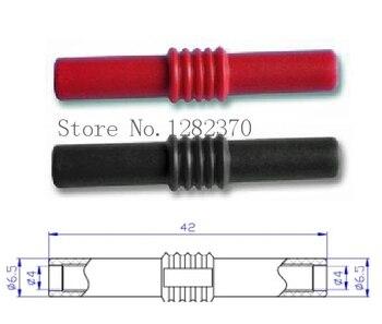 [SA] AD4410 4mm banana plug female-female adapters extend Insulated Banana Coupler  --50pcs/lot