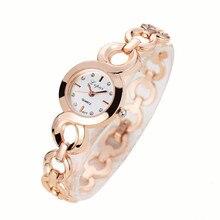 Идеальный подарок Часы Для женщин кварцевые наручные часы женская одежда подарок Часы леверт челнока оптовая Бесплатная доставка
