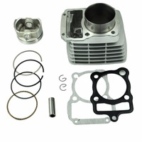 LOPOR 65.5mm Cylinder KIT & Piston Set & Gasket All Sets For Honda CG200 200CC Motorcycle Air Cooled NEW