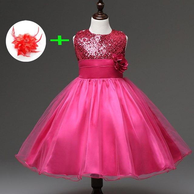 Tienda Online Los niños vestido de novia para 3 años 11 años Niña ...