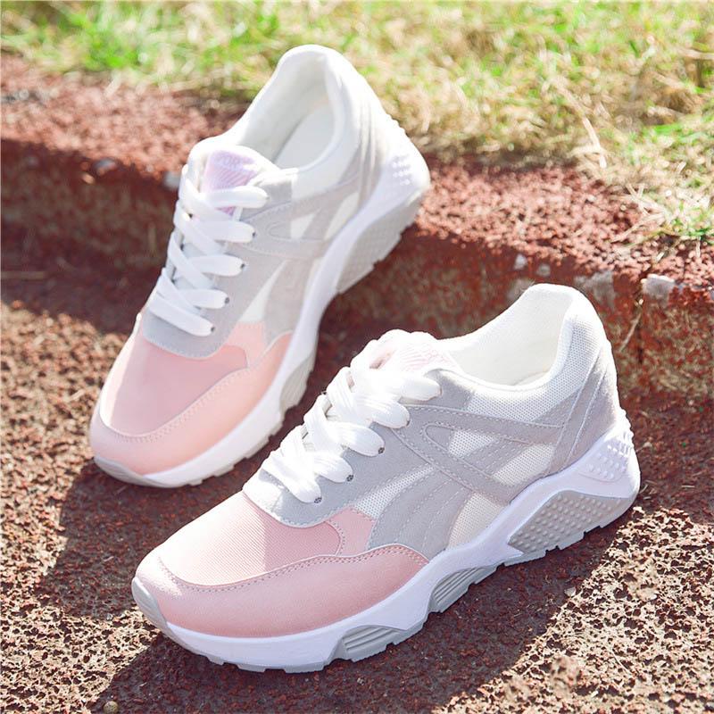 Women Sneakers Mesh Running Shoes Girls
