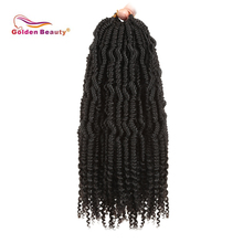 14inch весна твист вязание крючком плетение волос бомба твист вязание крючком наращивание волос