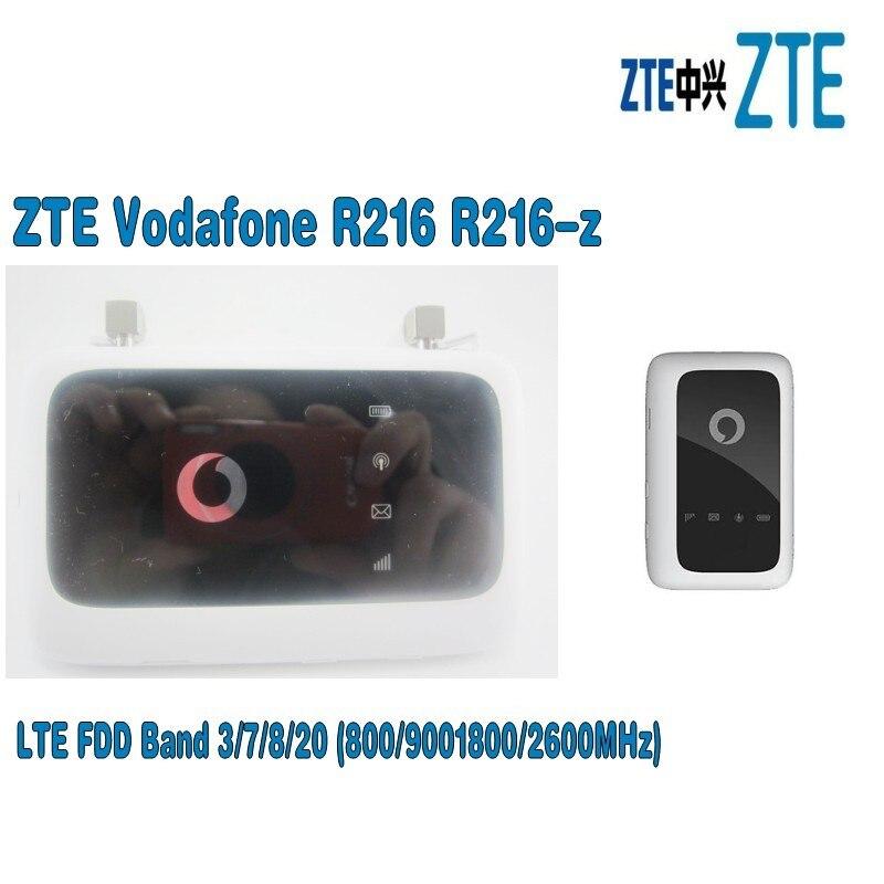 Desbloqueado Vodafone R216 R216-z Bolso roteador sem fio com 2 pcs antena pk Huawei E5372 E5573 E5577 ZTE MF910