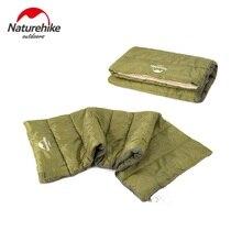 Marca Naturehike Nueva Ultraligero Verano saco de dormir Saco de dormir saco de Dormir de Algodón 0.8 kg NH15A150-D