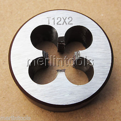 Trapezoidal Metric Left hand Die TR12 x 2mm Pitch what she left