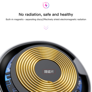 Image 4 - Baseus QI Wireless Charger for iPhone X 8 Samsung Galaxy S9 S8 Mobile Phone Desktop charger carregador sem fio fast charging