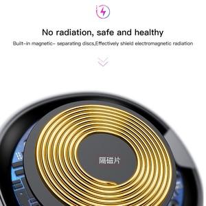 Image 4 - Baseus QI Беспроводное зарядное устройство для iPhone X 8 Samsung Galaxy S9 S8, мобильный телефон, настольное зарядное устройство, быстрая зарядка