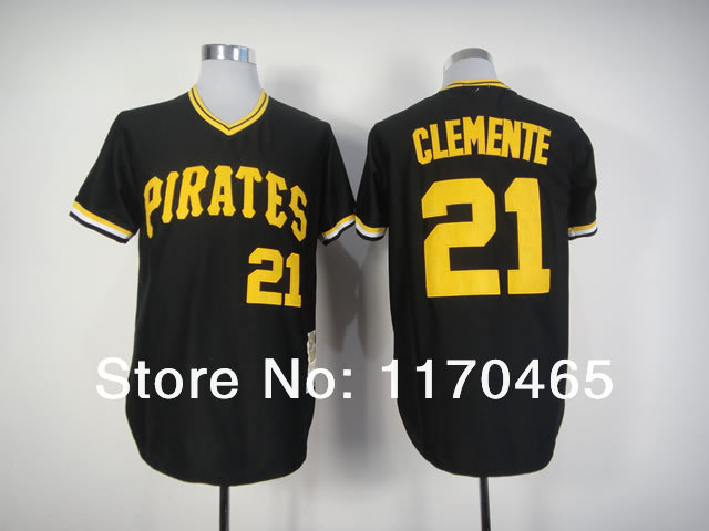 newest collection afaaf e5feb mlb jerseys pittsburgh pirates 21 roberto clemente mitchell ...