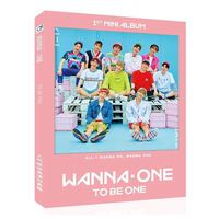 Signed Wanna One Autographed Photobook Freeshipping K POP 102017 A