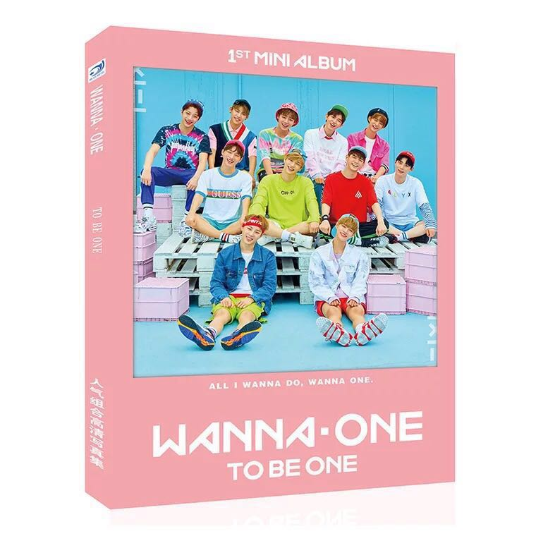 signed Wanna One autographed photobook  freeshipping  K-POP 102017 A