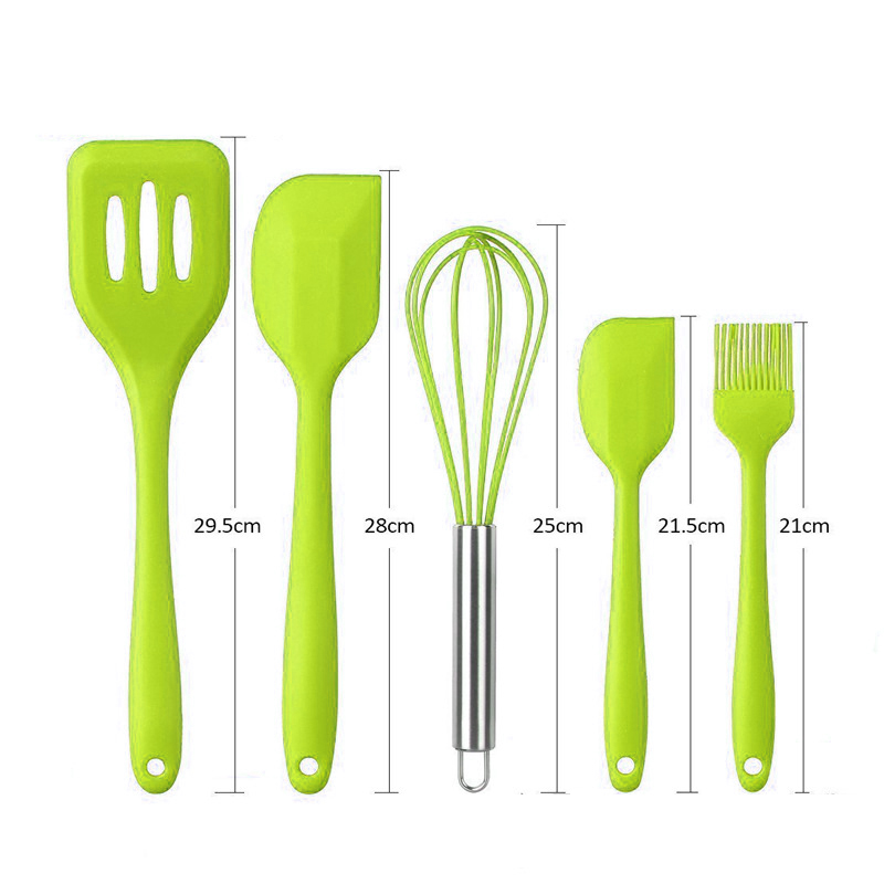 10Pcs-set-Cooking-Tool-Sets-Silicone-Heat-Resistant-Kitchen-Cooking-Utensils-spatula-Non-Stick-Baking-Tool(5)