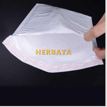 (110*130mm) 100pcs/lots White Pearl Film Bubble Envelope Courier Bags Waterproof Packaging Mailing Bags CL-2022