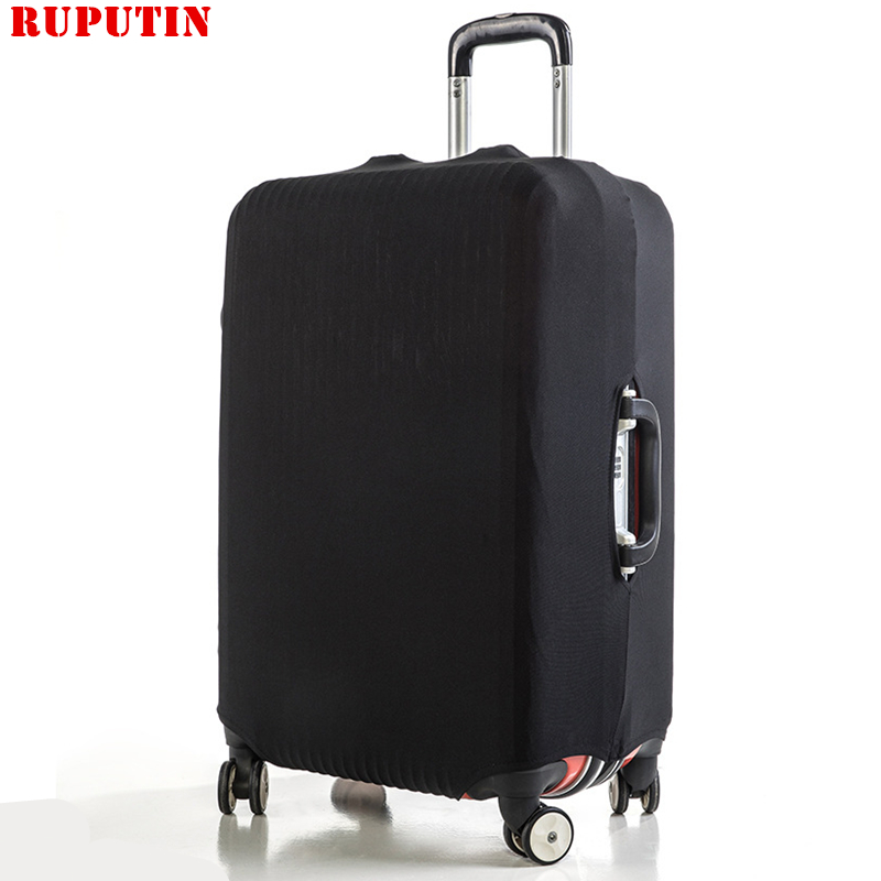 RUPUTIN Solid Color Trolley Case Dust Cover High Quality Luggage Cover Protective Suitcase Elastic Cover Trolley Case For 18-30
