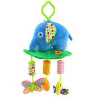Plush Elephant Musical Windbell Baby Toddler Musical Mobile Toy Educational Toys Juguete Bebes Jouet Stroller Crib