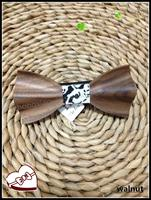 موضة جديدة خشبية بابيون للرجال حفل زفاف ربطة العنق الفاخرة