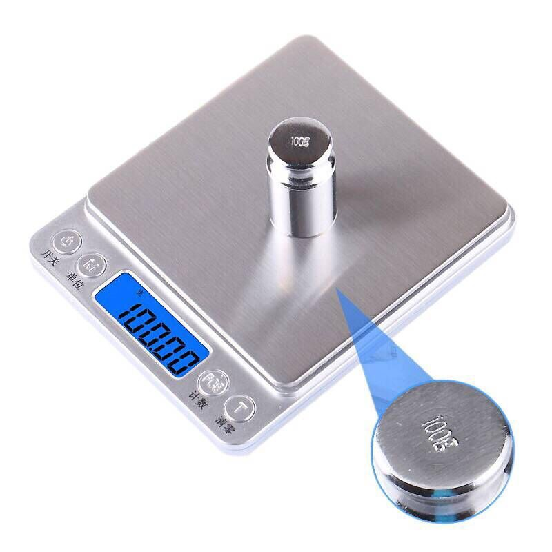Digital kitchen Scales 1000g/0.01g Portable Electronic Pocket LCD Precision Jewelry Scale Weight Balance Cuisine