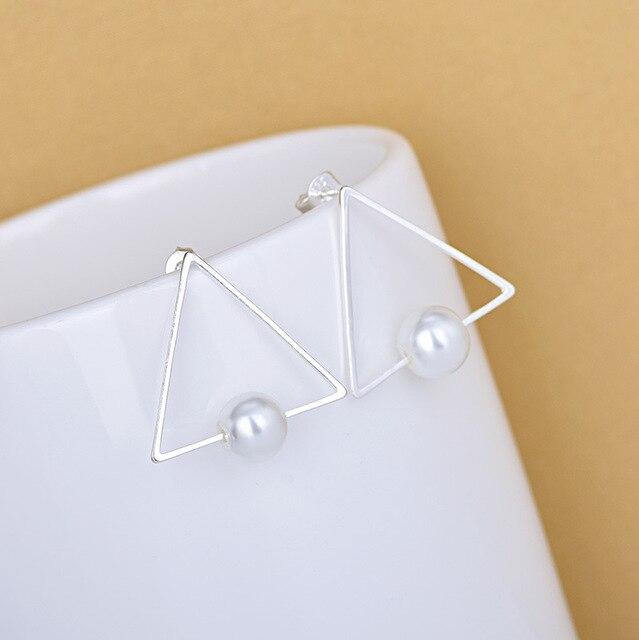 Модные Женские Треугольные брифы из стерлингового серебра 925