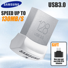 SAMSUNG USB Flash Drive Disk USB 3.0 130MB/S 32GB 64GB 128GB Mini Pen Drive Tiny Pendrive Memory Stick Storage Device U Disk(China)