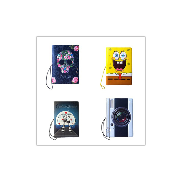 "Wholesale 2016 New Fashion Passport Cover 4Pcs/Set Travel Passport Holder PVC/PU 5.5*3.78"" Card & ID Holders Passport Package"