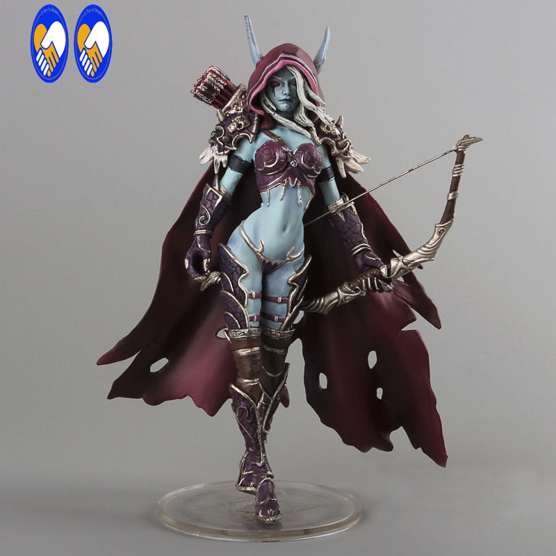 (A Toy A Dream)WOW Darkness Ranger Lady Sylvanas Windrunner 7 PVC Action Figure Collection Model Toy FW055 world of warcraft wow pvc action figure display toy doll forsaken queen sylvanas windrunner