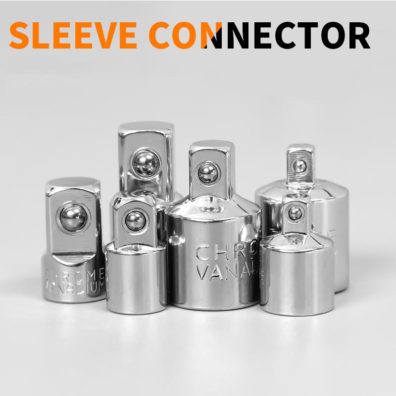 Ratchet wrench fittings sleeve conversion head 1 43 81 2 inch 12 5mm small medium and large size mutual joint in Tool Parts from Tools