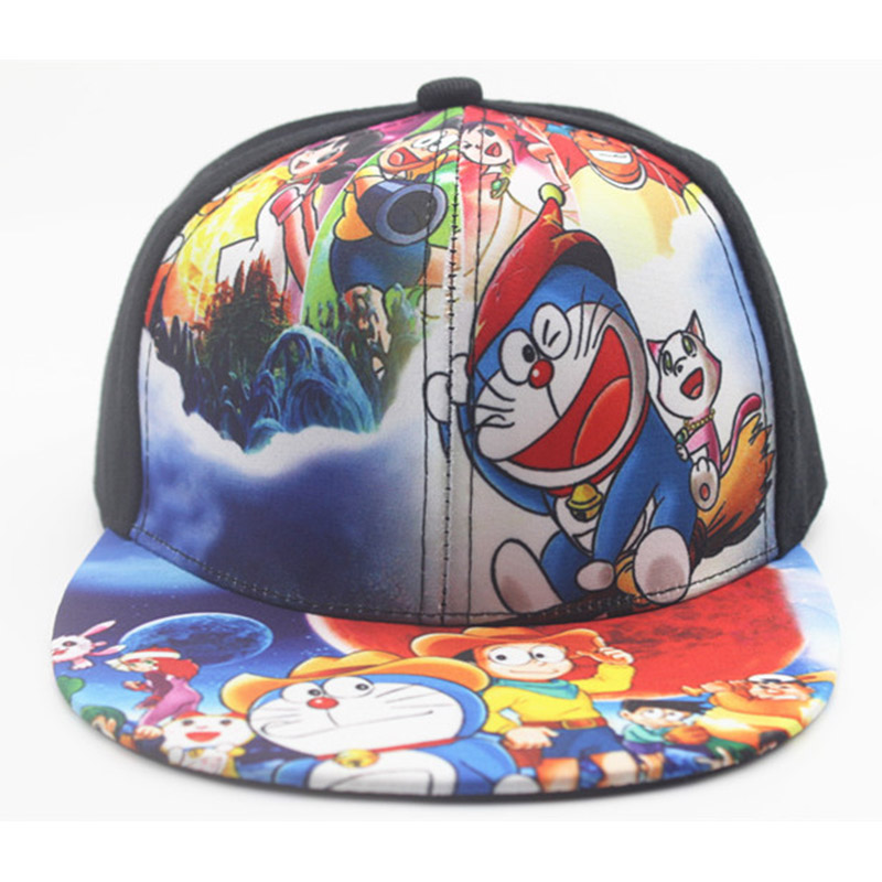 40fd54e1c752aa Children Boy Cartoon Baseball Hat Pokemon Pikachu Doraemon Sunscreen  Adjustable Baseball Caps For Kids Four Seasons Applicable-in Baseball Caps  from Apparel ...