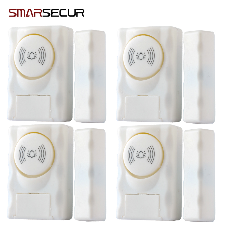 Smarsecur alarm Wireless Home Security Door Window Alarm warning System Magnetic Door Sensor
