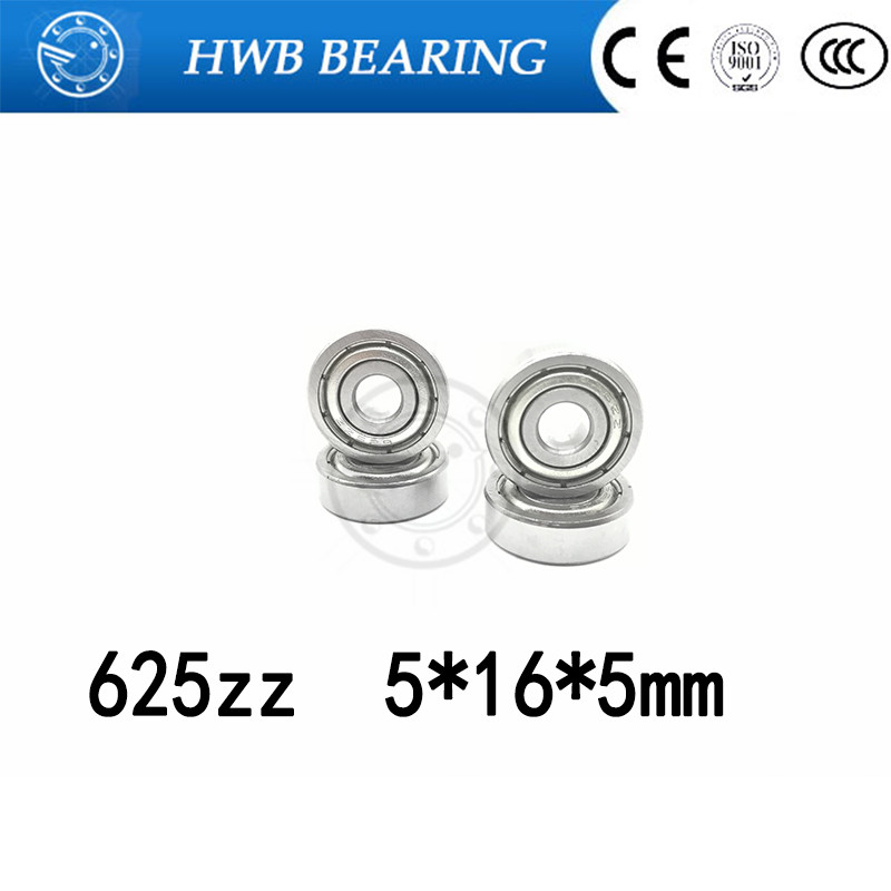 10pcs free shipping 625 zz abec5 Miniature deep groove ball bearing 625ZZ 5*16*5 mm 5x16x5mm free shipping 10pcs el65764so 5