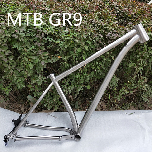 Aliexpress com : Buy Best Quality !!! PYTITANS Titanium MTB bike frame 27