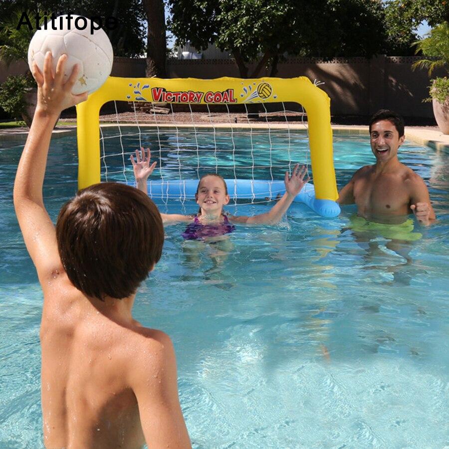 Épissure en plastique gonflable amusement eau polo tennis passerball piscine accessoires enfant jouets