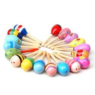 Кэндис Го! Забавные игрушки Горячая Распродажа Красочные деревянные игрушки мультфильм Кабаца ребенка раннего развития подарок на день рождения 5 шт./лот
