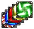 Universal 12 Volt Cooling Fans for Desktop Chassis 12cm Silent Computer Fan LED Cooling Air-cooled Cooler Fan PC