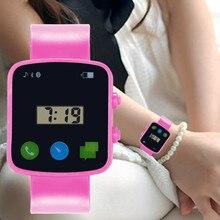 Electronic Clock Hot Sale Kids Watch Bracelet Digital Sport Wristwatch Child