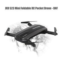 Original JXD 523 Mini Foldable RC Pocket Drone BNF WiFi FPV 0.3MP Camera/G-sensor Mode/Air Press Altitude Hold