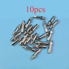 10PCS RC Boot Watergekoelde Accessoires M4 Draad Kraan 2mm Gat Messing Nozzle ESC Motor Cooling Tepel L17mm(China)